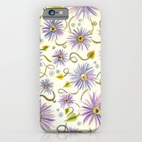 iPhone & iPod Case featuring Purple Aster by a. peterson