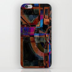 Rising From Darkness Abstract iPhone & iPod Skin