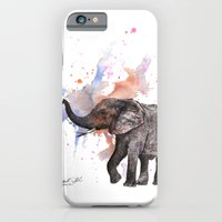 Dancing Elephant Paintin… iPhone 6 Slim Case