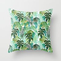 LOST - In The Jungle Throw Pillow