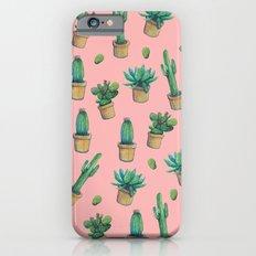 cactus pink2 Slim Case iPhone 6s