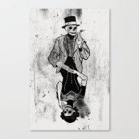 Gra Smierci Canvas Print
