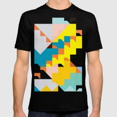 color story - cannonade Mens Fitted Tee SMALL Black