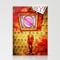 Dance,you fools! Stationery Cards