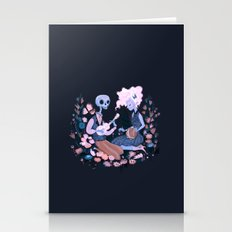Rhythm Of Grief Stationery Cards