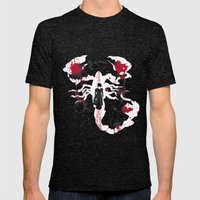 A Walk With The Devil Mens Fitted Tee Tri-Black SMALL