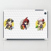 Pokemon Trainer SILVER iPad Case