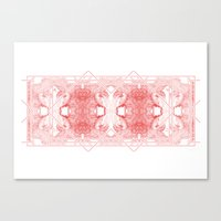 The Willow Pattern (Rose… Canvas Print