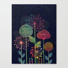 Flower Tales 2 Canvas Print