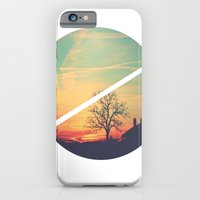 iPhone & iPod Case featuring Colored Sky by GetNaked