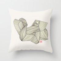 3B Throw Pillow