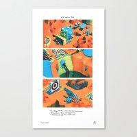 POP HELL #1 Canvas Print