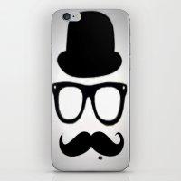 Gentleman iPhone & iPod Skin