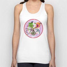 scary makes you happy Unisex Tank Top