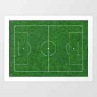 Football's coming home Art Print