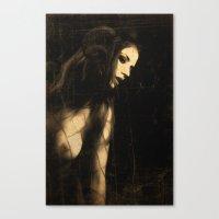 The devil in me Canvas Print