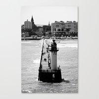 Calais Lighthouse Canvas Print