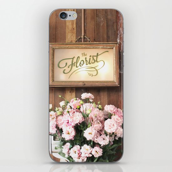The Florist iPhone & iPod Skin