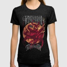 The Dragon Womens Fitted Tee Tri-Black SMALL