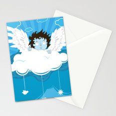 huh? what?! can't hear you ... too windy up here! Stationery Cards