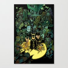 Lil' Bats Canvas Print