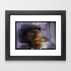 viejo  Framed Art Print