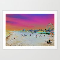 Old Orchard Beach, Maine… Art Print