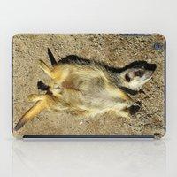 MM - Relaxing meerkat iPad Case
