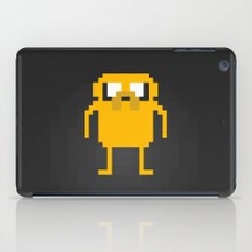 jake pixel iPad Case