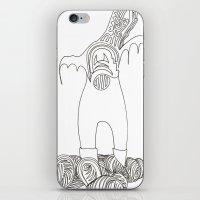 Doodle Moose iPhone & iPod Skin