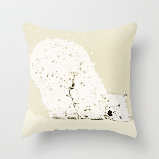 bears life 2 Throw Pillow
