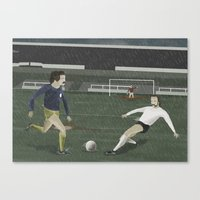 Matchday Canvas Print