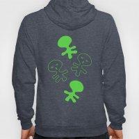 Aliens-Green Hoody