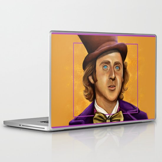 The Wilder Wonka Laptop & iPad Skin
