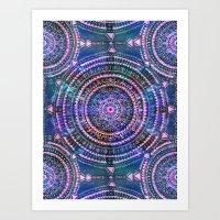 Mandala I {celestial} Art Print