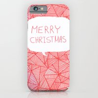 iPhone & iPod Case featuring Merry Christmas! by Fimbis