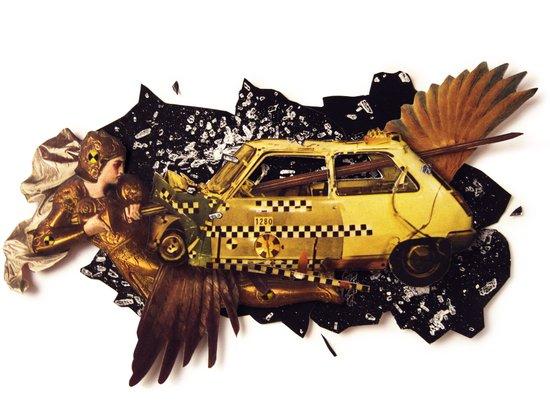 The Big Bang | Collage Art Print