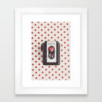 Love Photography Framed Art Print