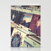 The Record Store (An Instagram Series) Stationery Cards