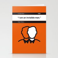 No010 MY Invisible Man B… Stationery Cards