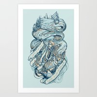 Life & Love at Sea Art Print