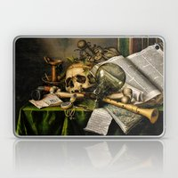 Vintage Vanitas- Still Life with Skull Laptop & iPad Skin