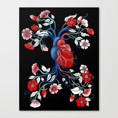 Romantic Anatomy Canvas Print