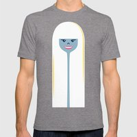 Good Hair Days: Straight Mens Fitted Tee Tri-Grey SMALL