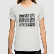 Architecture Urbanism  Womens Fitted Tee Silver SMALL