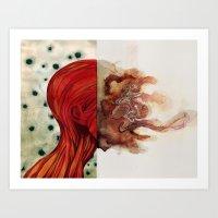 Damian Art Print
