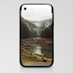 Foggy Forest Creek iPhone & iPod Skin