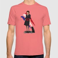 Come Fly With Me, Let's … Mens Fitted Tee Pomegranate SMALL