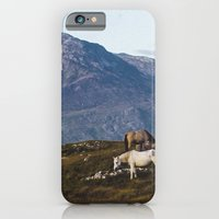 Connemara  - Horse and Mountains iPhone 6 Slim Case
