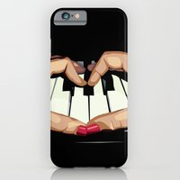 iPhone & iPod Case featuring For the Love of Music by Alexis Kadonsky